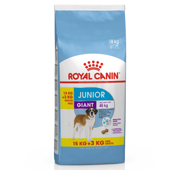 Royal Canin Giant Junior 18 kg 0
