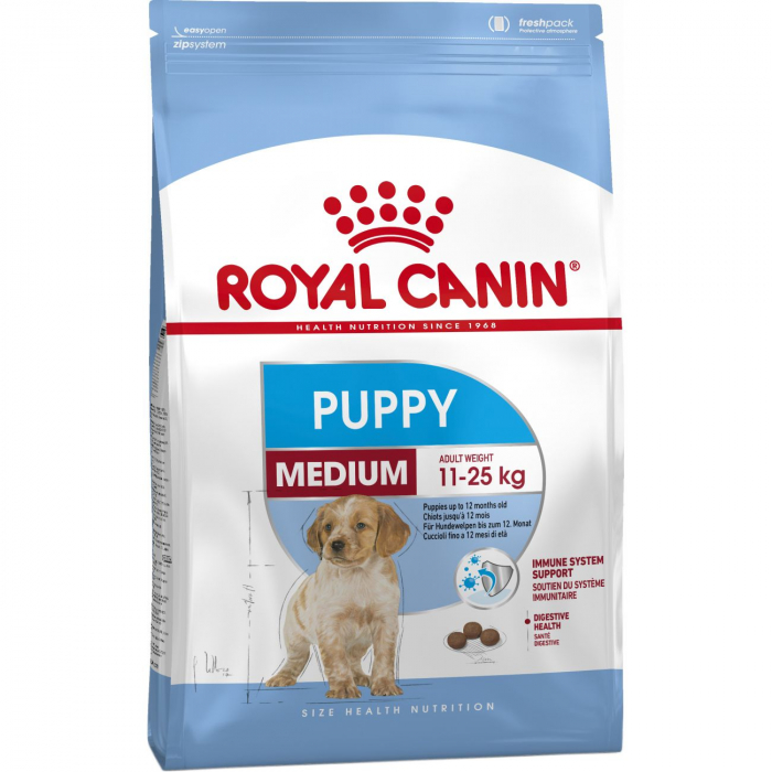 Royal Canin Medium Puppy 15 kg 0