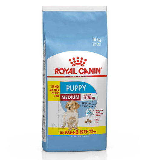 Royal Canin Medium Puppy 18 kg 0