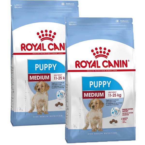 Royal Canin Medium Puppy 2x15 kg 0