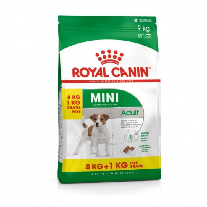 Royal Canin Mini Adult 8+1 Kg 0