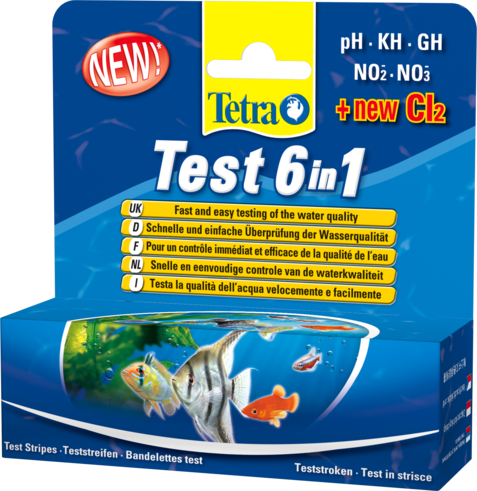 Tetra Test 6in1 0