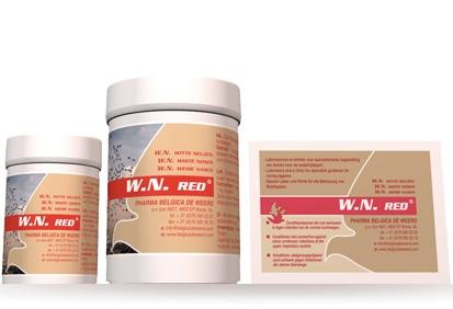 W.N. Red (Belgica de Werd) plic 5g  0