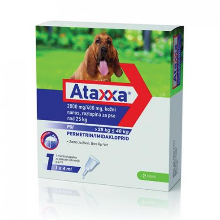 Ataxxa Spot-On Dog 400mg (25-40kg)