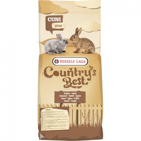 Hrana iepuri Country's Best - Cuni Fit Plus 20kg0