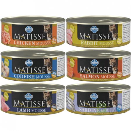 Matisse Cat Mousse conserva 85g0