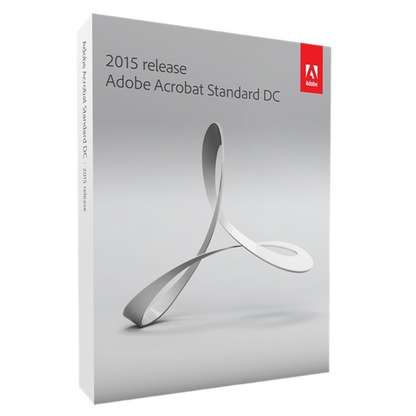 Adobe Acrobat DC Standard 2015 Windows - 1User 0