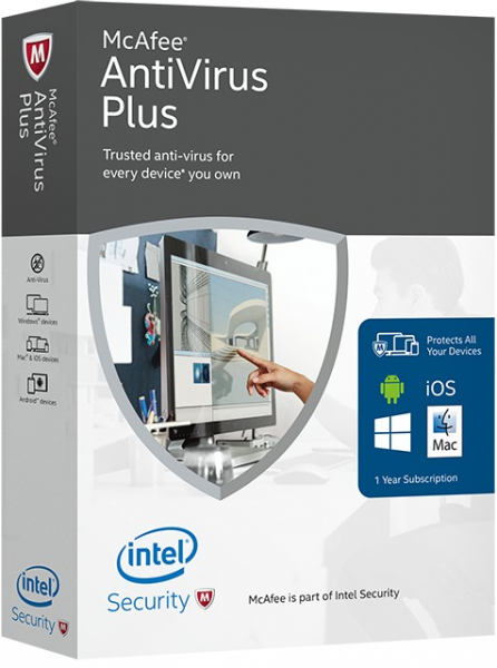McAfee Antivirus Plus 1an 3PC - Licenta electronica 0