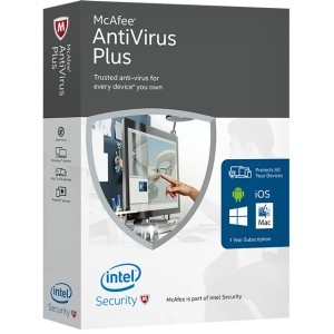 McAfee Antivirus Plus 1an 5PC - Licenta electronica 0