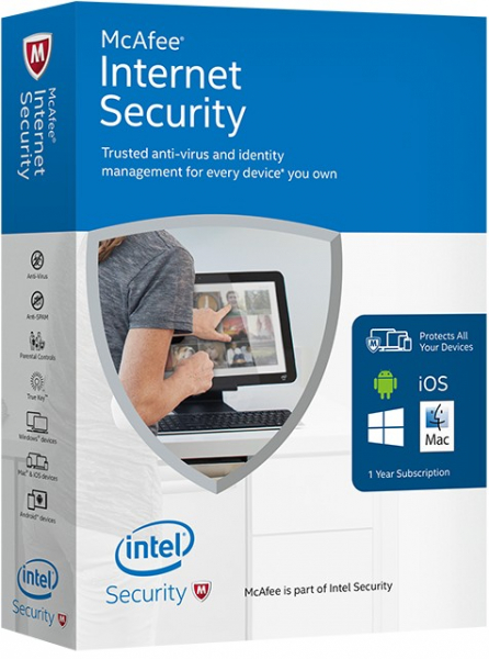 McAfee Internet Security 1an 1PC Licenta electronica [0]