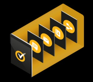 Norton 360 Deluxe + 25GB Cloudstorage - 3 Devices - 1An 0