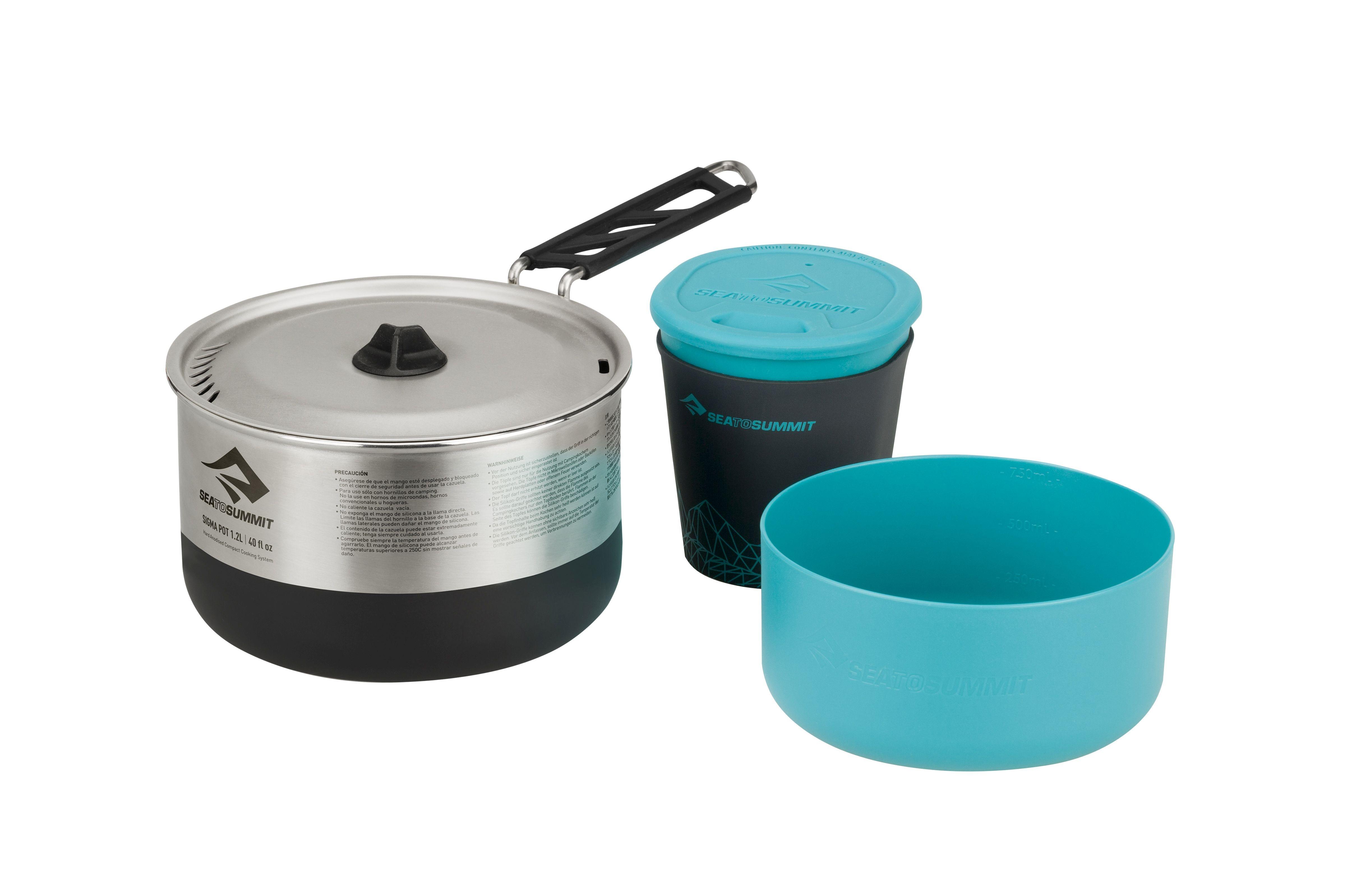 Set vase camping Sea To Summit Sigma Cookset 1.1 BPA free [0]