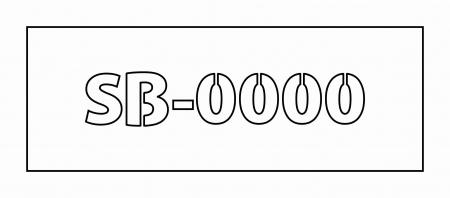 Set panou PVC / banner si cod identificare stupina [1]