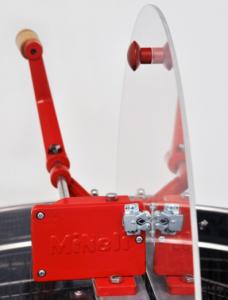 Centrifuga Mineli tangentiala, 4 rame, manuala cu canea din inox [1]