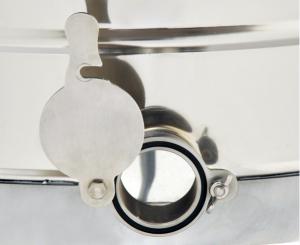Centrifuga Mineli tangentiala, 4 rame, manuala cu canea din inox [3]