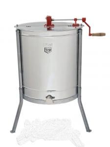 Centrifuga Mineli tangentiala, 4 rame, manuala cu canea din inox [0]