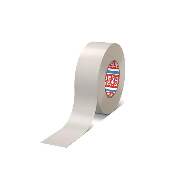 Banda adeziva, pentru reparatii, din textil, alb, tesa® 4688, 5 cm x 25 m [0]