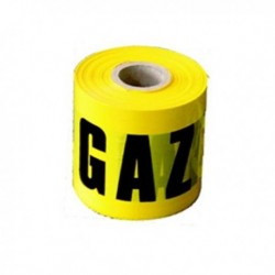 BANDA SEMNALIZARE GAZ 200ML-H 100MM 0