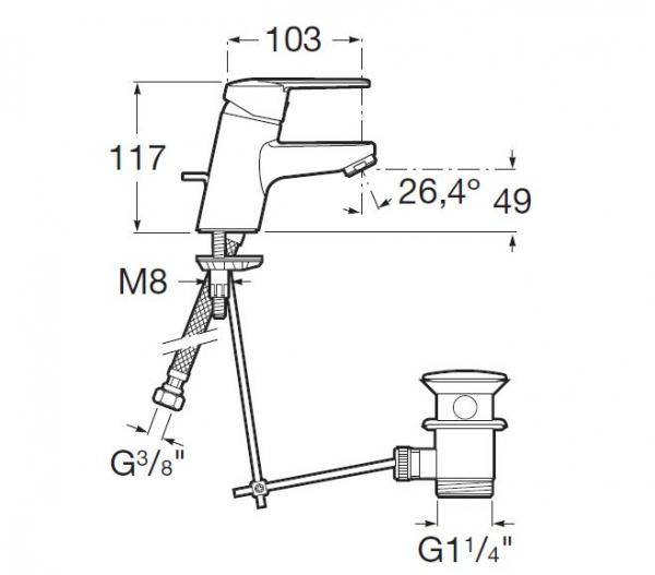 BATERIE LAVOAR SCURGERE AUTOMATA CROM SMX 42.1.1/1 [2]