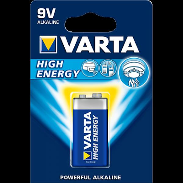 BATERIE VARTA HIGH ENERGY 9V [0]