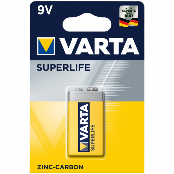 BATERIE VARTA SUPERLIFE 9V 0