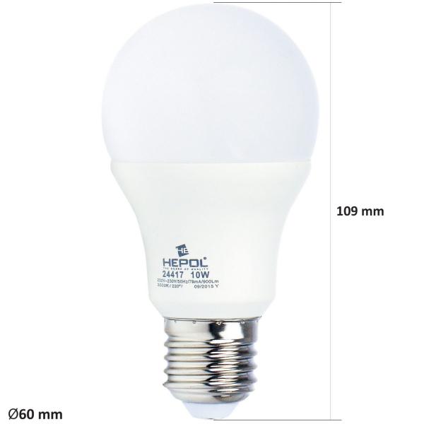 BEC LED 10W  E27 A60 1
