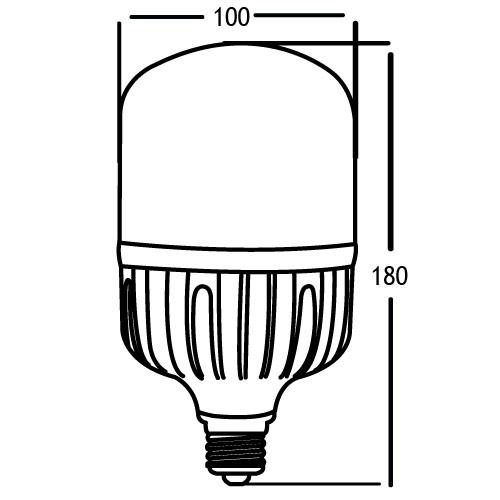 BEC LED 30W E27 3