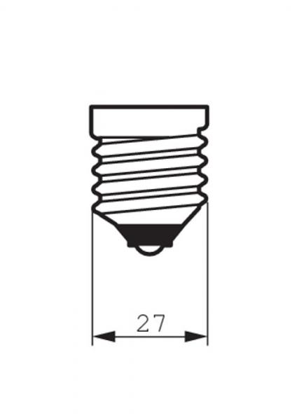 BEC LED 75W E27 PHILIPS 3
