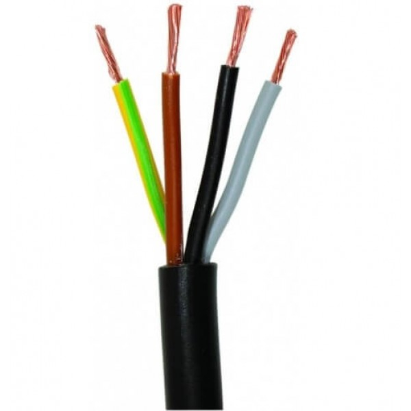 CABLU ELECTRIC MYYM / H05VV-F 4 x 1.5 MMP, CUPRU 0