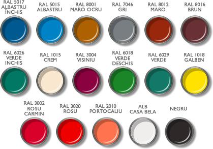 Vopsea Casabella RAL 8001 ocru 0.75 l 1