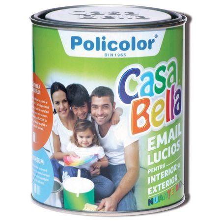 Vopsea Casabella RAL 8001 ocru 0.75 l 0