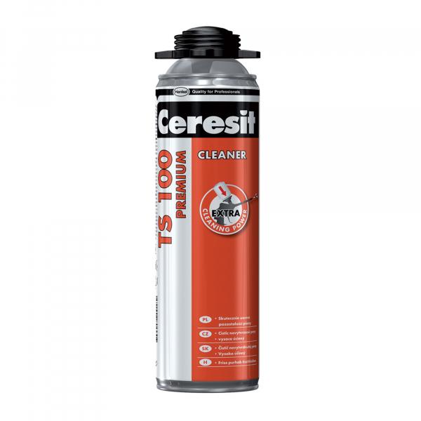 SOLUTIE CURATAT SPUMA NEINTARITA TS 100 CLEANER 500 ml CERESIT 0