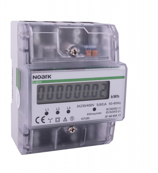 CONTOR 3 POLI  /  4 MODULE  AFISAJ LCD NOARK 0