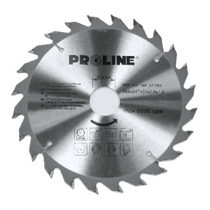 DISC CIRCULAR PENTRU LEMN VIDIA 300MM/60D [0]