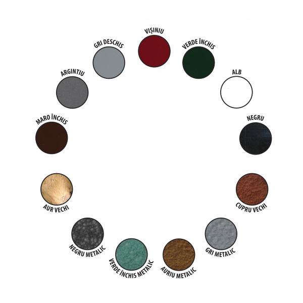 Vopsea alchidica pentru metal, Protecta 3 in 1, interior / exterior, alb, 0.5 L [1]