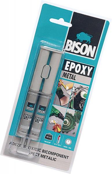 ADEZIV EPOXY METAL BISON 0