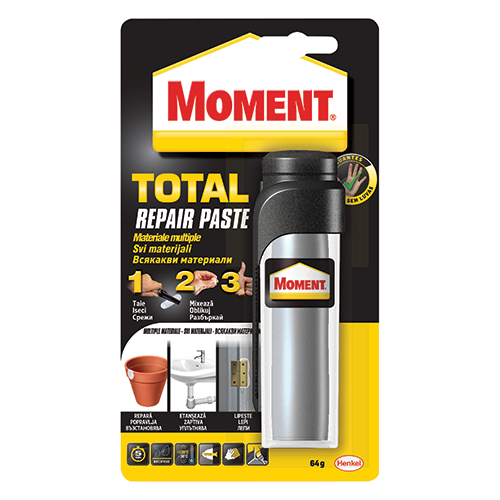MOMENT EPOXY PUTTY-TOTAL REPAIR 64g Adeziv pasta pentru reparatii [0]
