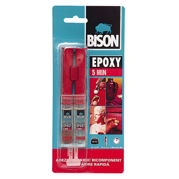 EPOXY RAPID 2X12ML BISON [0]