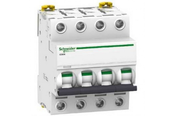 Intrerupator automat modular Schneider Electric iK60 A9K24416, 4P, 16A, curba C [0]