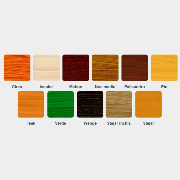 Lac / lazura subtire 2 in 1 pentru lemn, Kober, tec, interior / exterior, 10 L 1