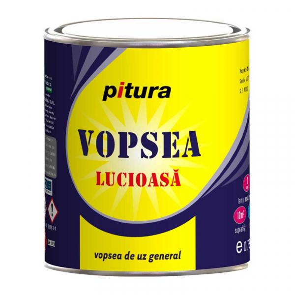 KOBER PITURA EMAIL ALBAST LUMINOS 0.75L 0