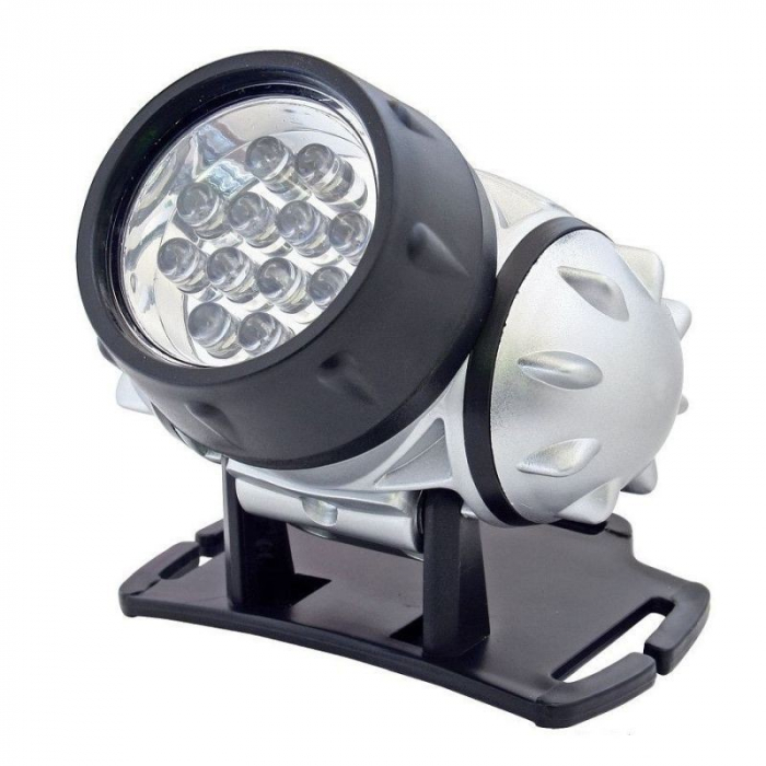 LANTERNA FIXATA PE CAP 12 LED-URI [0]