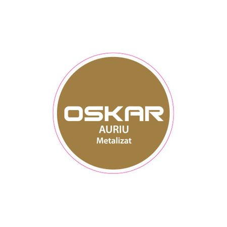 Vopsea Oskar Direct pe Rugina Auriu Metalizat 0.5l [1]