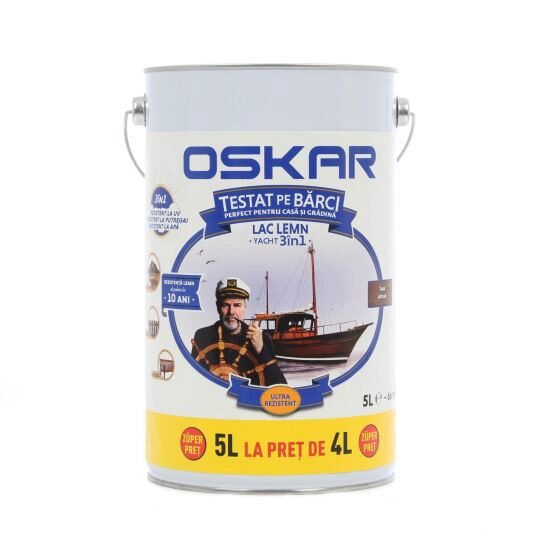 OSKAR LAC YACHT TEAK 5L [0]