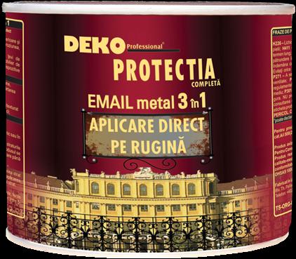 DEKO PROTECTIA COMPLETA NEGRU 2.5l POLICOLOR 0