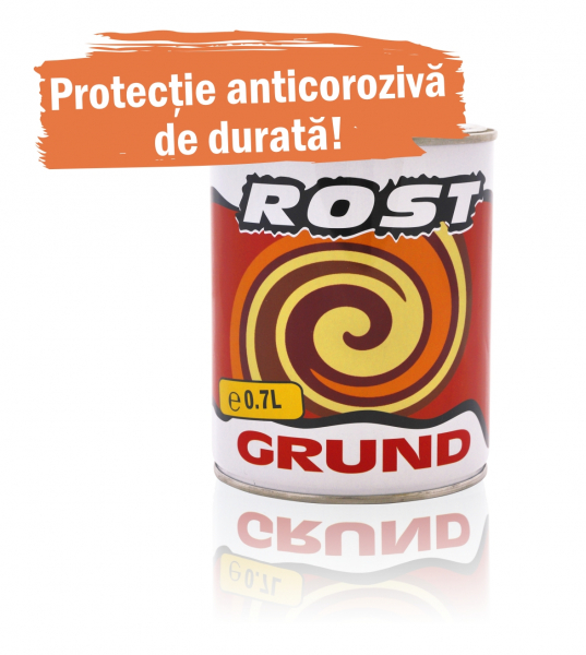 Grund pentru metal Rost, interior / exterior, rosu oxid, 0.7 L [0]