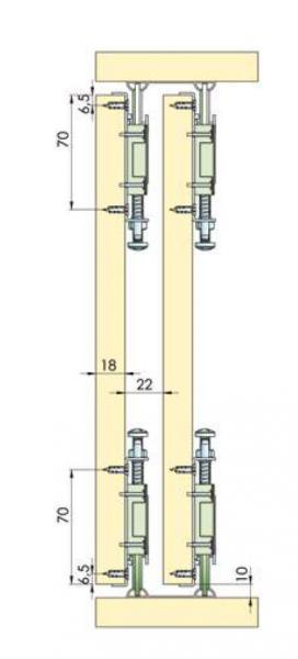 SISTEM GLISARE PKM80-4 ROLE SET [2]