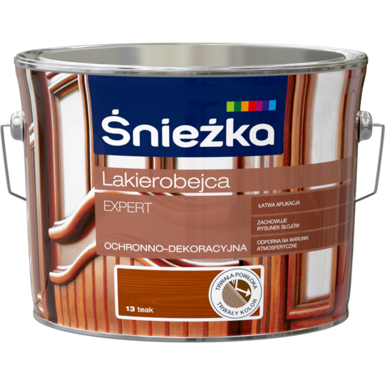 Lac bait pentru protectia si decorarea lemnului , Lakierobejka Expert , Teak , 2.5L 0