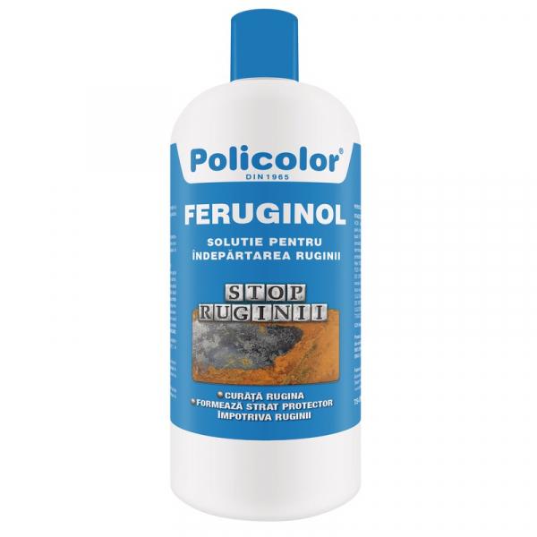 Solutie pentru indepartarea ruginii Feruginol, 1 l, POLICOLOR [0]