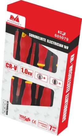 SURUBELNITA ELECTRICIAN 1KV-7BUC/SET [1]